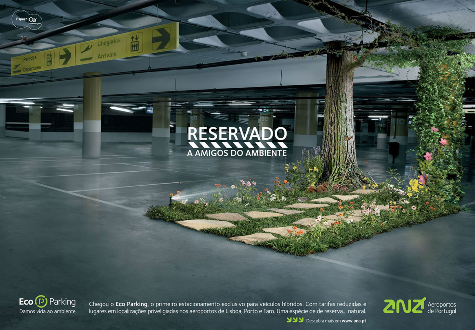 Eco Parking For Aeroportos de Portugal