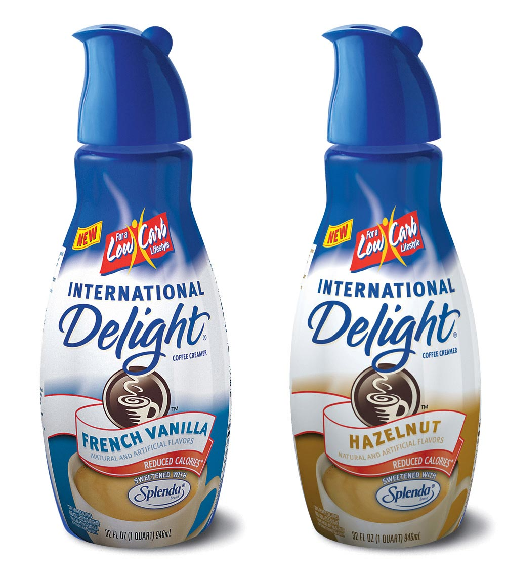 International Delight Creamer 3d Bottles