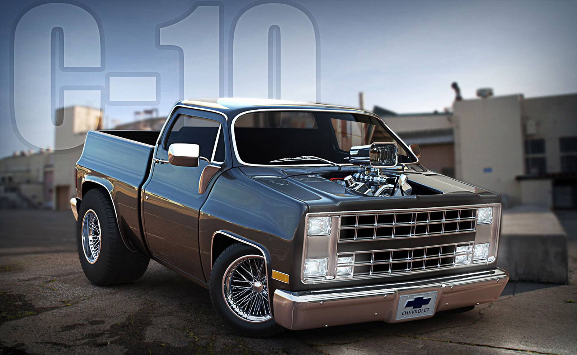Chevrolet 3d CGI Hillbilly