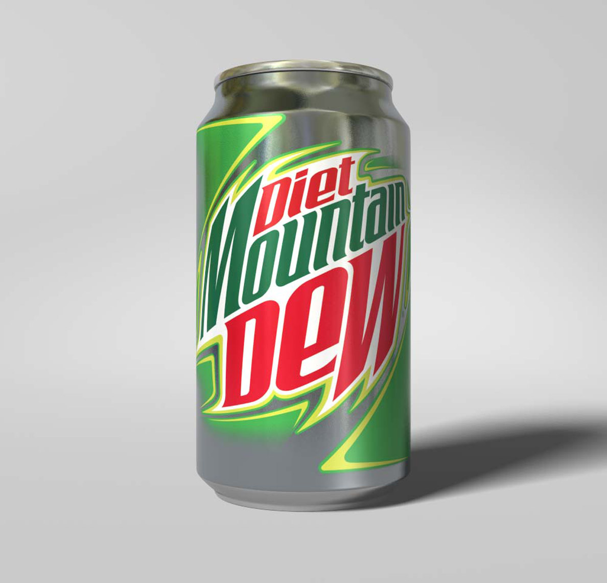 Mountain Dew CGI Soda Can