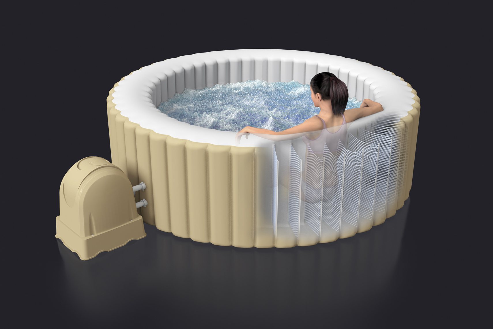 Intex Inflatable Spa Illustration